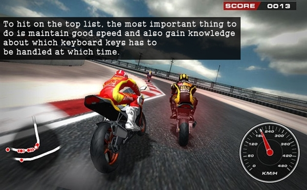 Description about Motor Bike Racing (3)