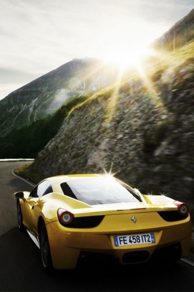 Download Ferrari iPhone Wallpaper for Free (4)
