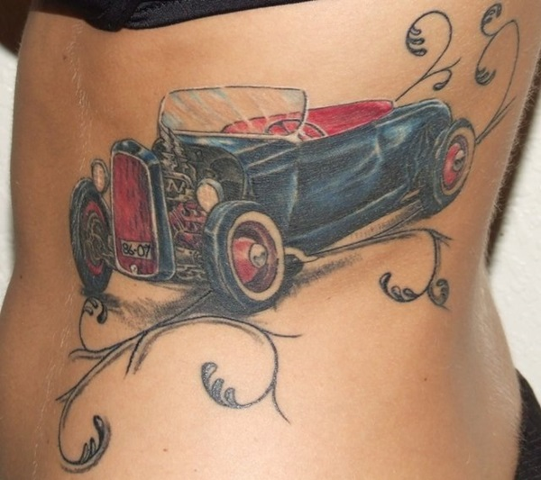 Best Free Car Tattoo designs and Ideas (11)