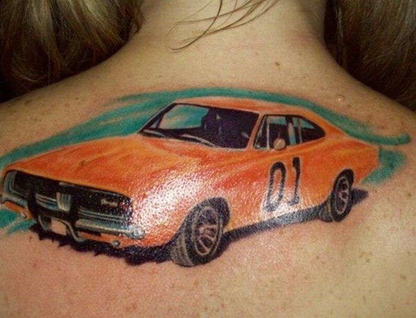 Best Free Car Tattoo designs and Ideas (14)
