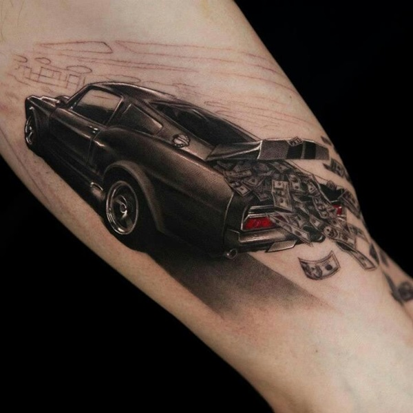 Best Free Car Tattoo designs and Ideas (15)