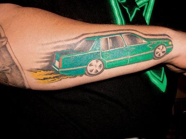 Best Free Car Tattoo designs and Ideas (16)