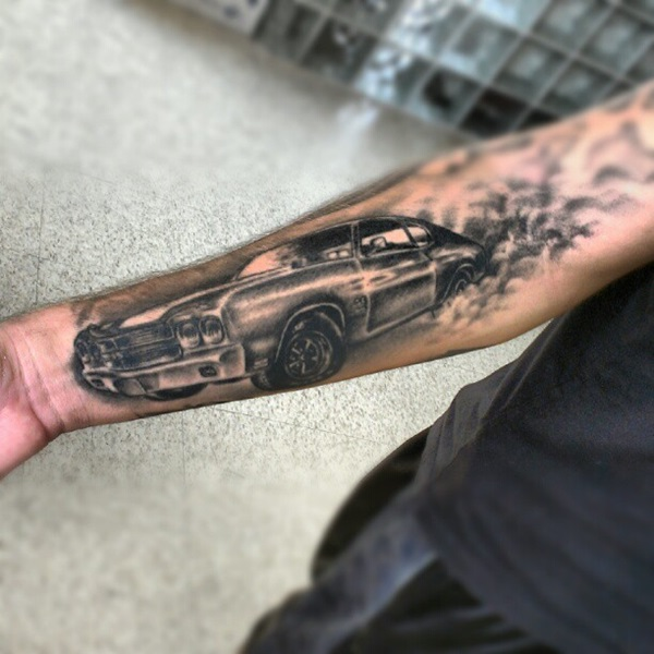 Best Free Car Tattoo designs and Ideas (17)