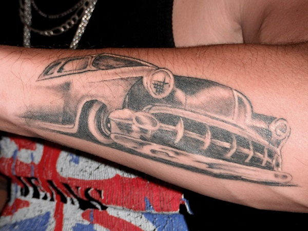 Best Free Car Tattoo designs and Ideas (18)