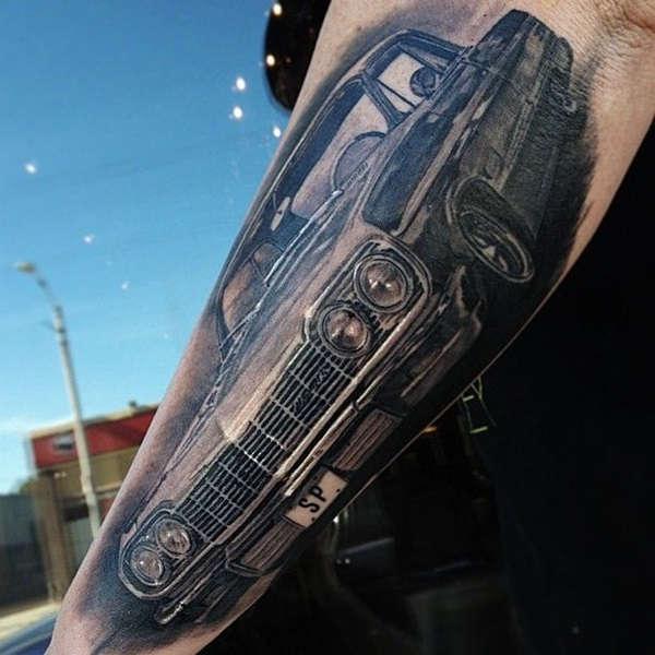 Best Free Car Tattoo designs and Ideas (19)