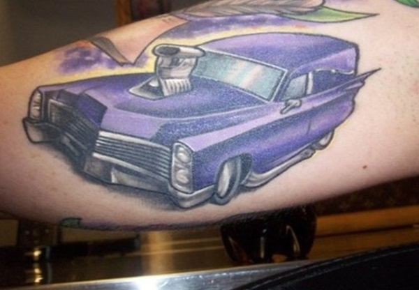 Best Free Car Tattoo designs and Ideas (24)