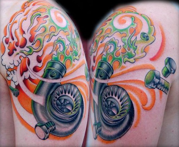 Best Free Car Tattoo designs and Ideas (25)