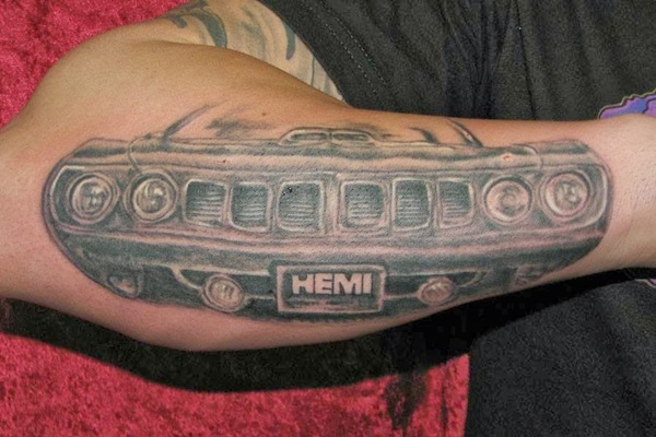 Best Free Car Tattoo designs and Ideas (26)