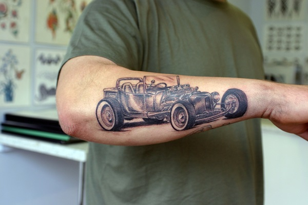 Best Free Car Tattoo designs and Ideas (27)