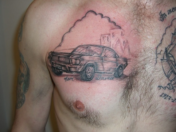 Best Free Car Tattoo designs and Ideas (28)