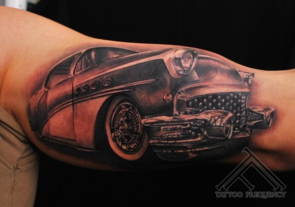 Best Free Car Tattoo designs and Ideas (3)