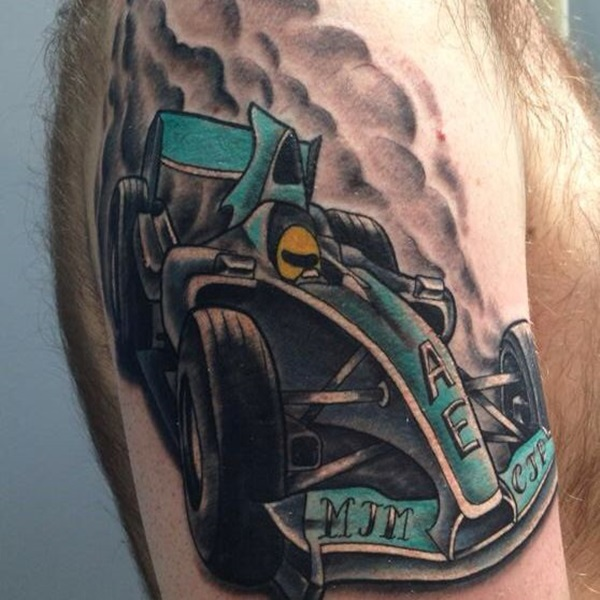 Best Free Car Tattoo designs and Ideas (31)