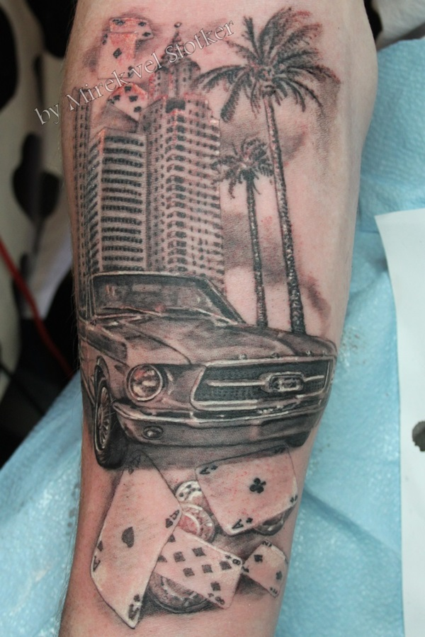 Best Free Car Tattoo designs and Ideas (4)