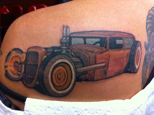 Best Free Car Tattoo designs and Ideas (44)