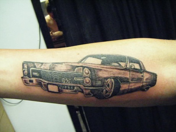 Best Free Car Tattoo designs and Ideas (48)