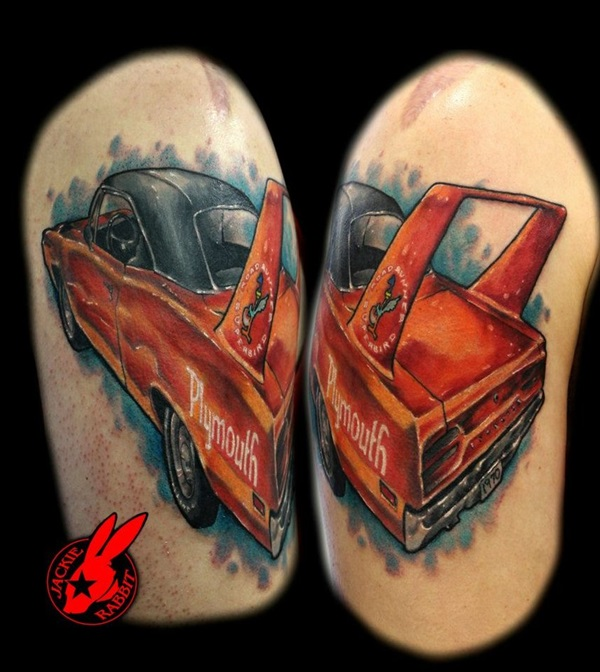 Best Free Car Tattoo designs and Ideas (51)