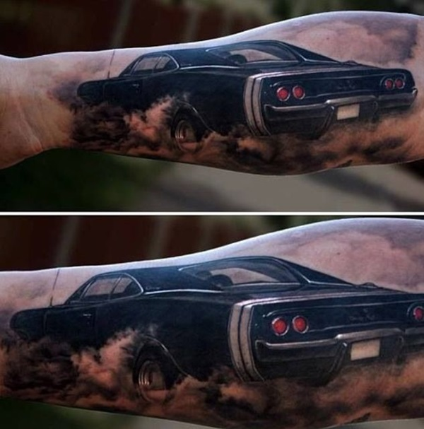Best Free Car Tattoo designs and Ideas (6)