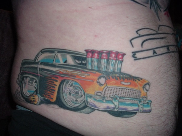 Best Free Car Tattoo designs and Ideas (9)