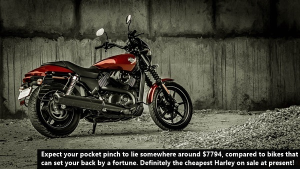 Harley Davidson Street 750 Review, Mileage, Specifications (12)