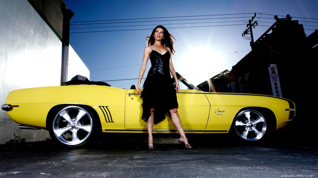 Sexy Cars and Girls Wallpaper and Pictures (10)