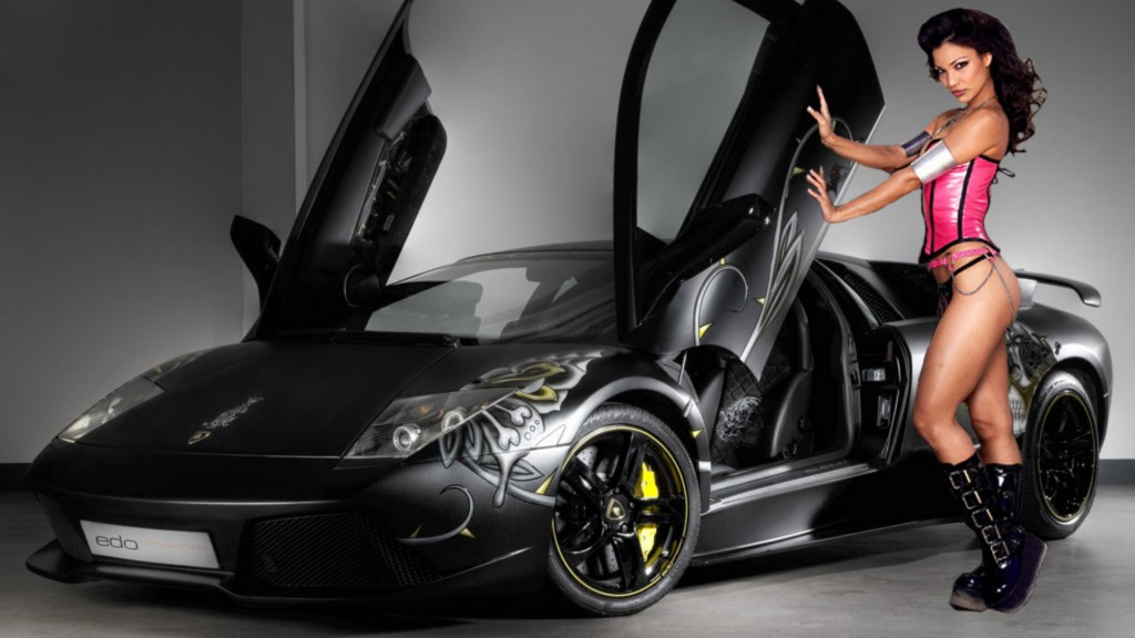 Sexy Cars and Girls Wallpaper and Pictures (13)