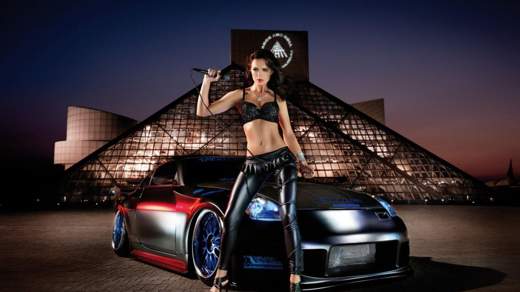 Sexy Cars and Girls Wallpaper and Pictures (2)