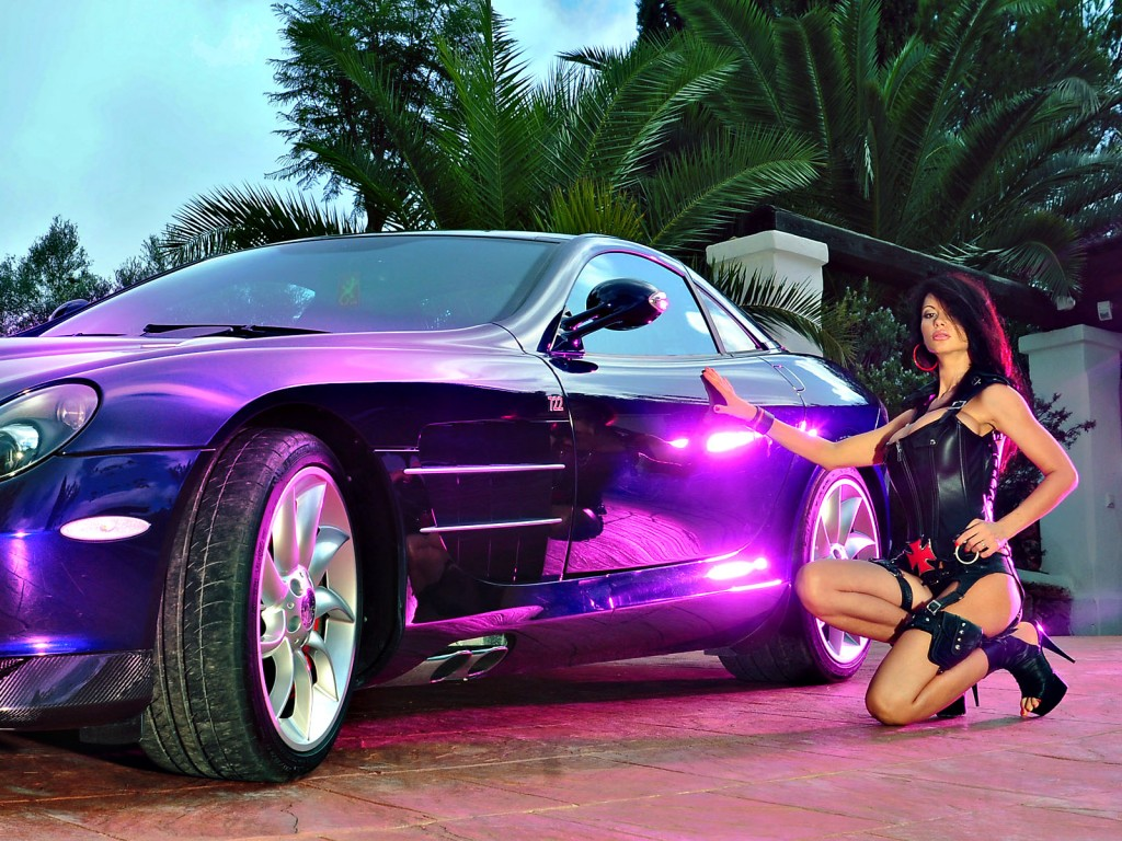 Sexy Cars and Girls Wallpaper and Pictures (25)