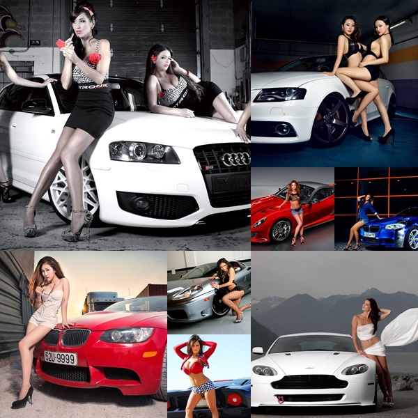 Sexy Cars and Girls Wallpaper and Pictures (37)