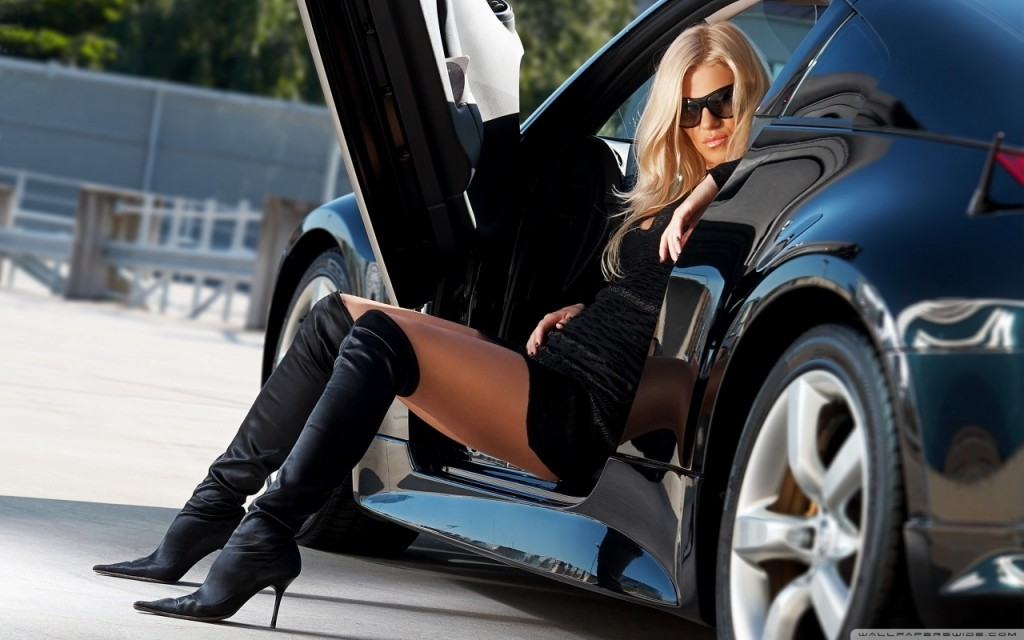 Sexy Cars and Girls Wallpaper and Pictures (41)