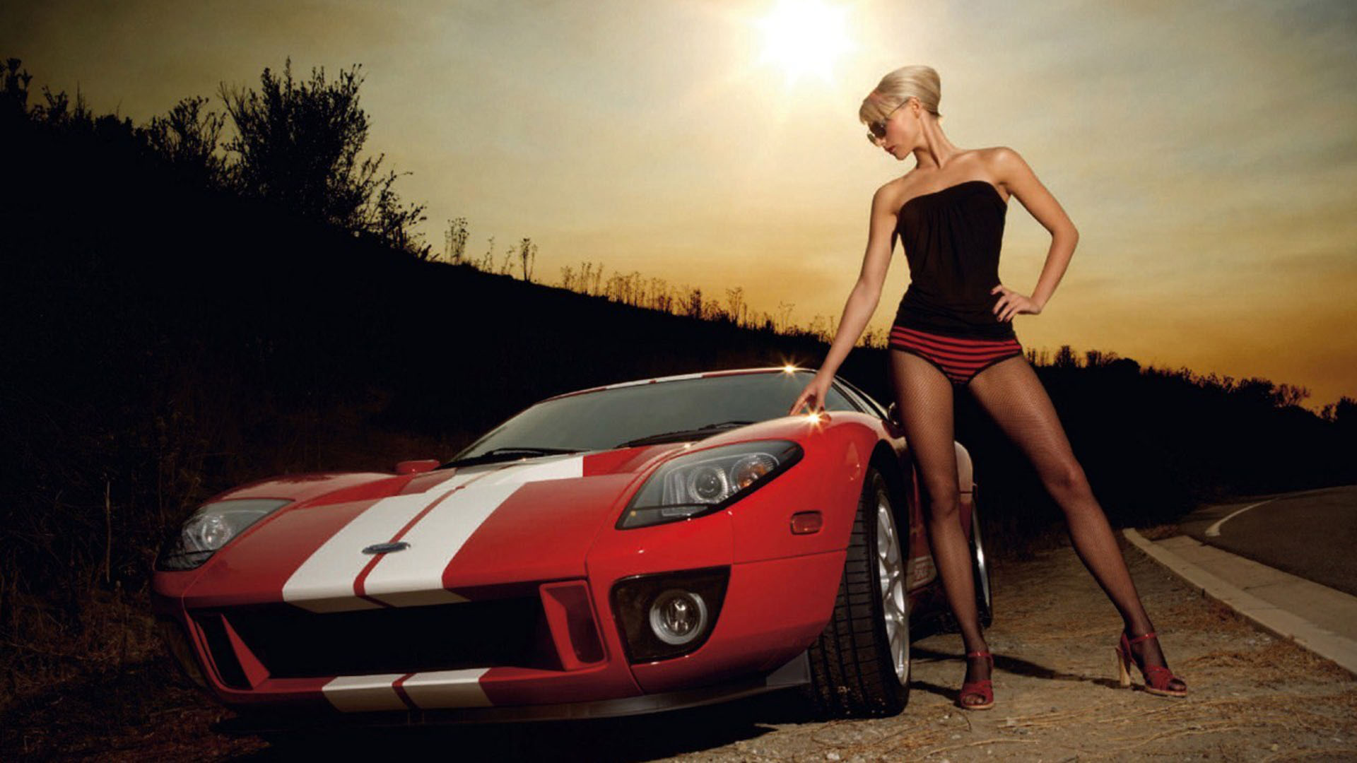 sexy cars and girls wallpaper and pictures 44 - Super Cool Cars With Girls